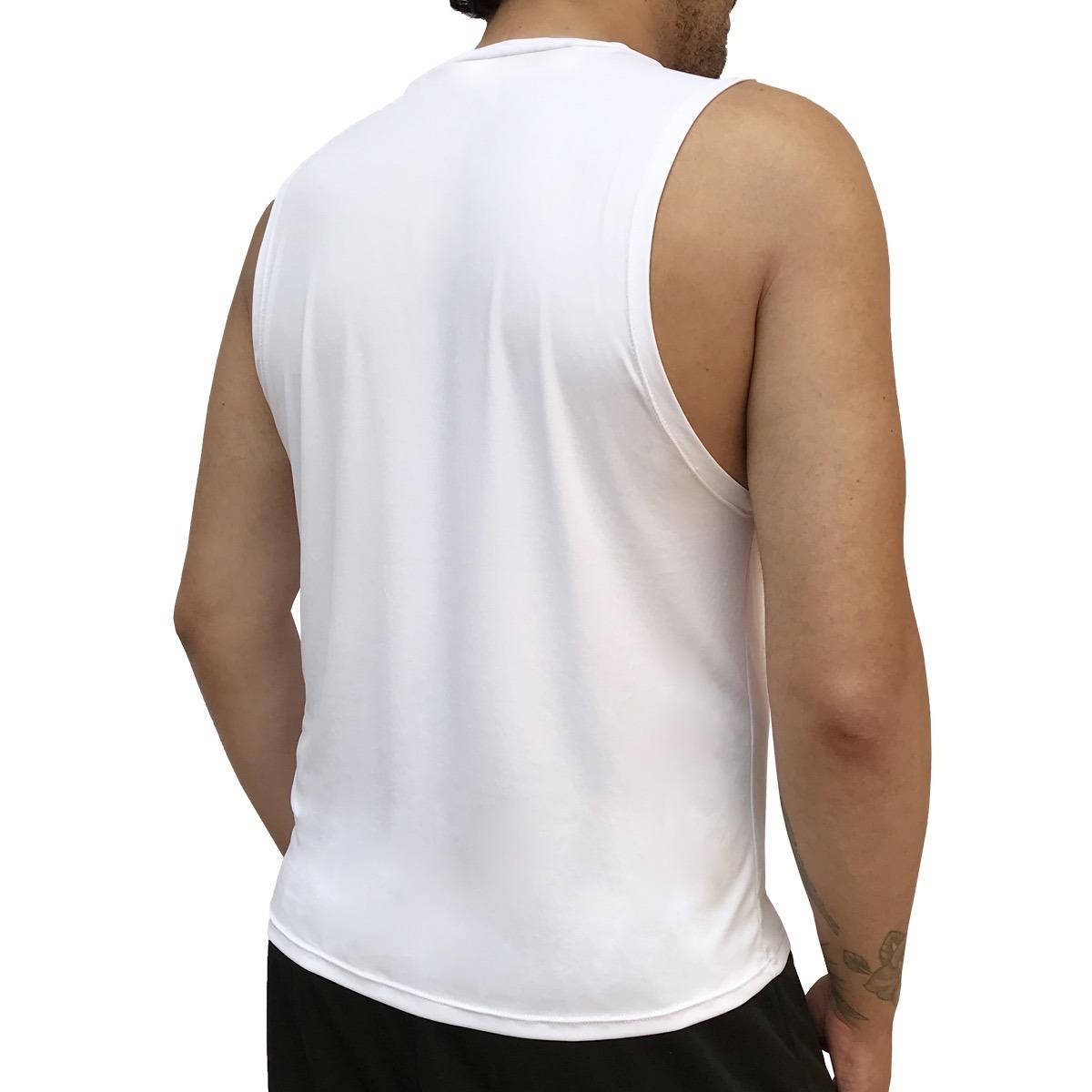 72a8262fb8593 6 camisetas regata masculina fitness dry fit 100% poliamida. Carregando zoom .