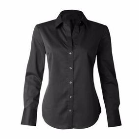 64abc79d3 Blusa+tule+bordado+camisetas+blusas Tamanho U - Blusas Feminino Manga Longa  U Preto no Mercado Livre Brasil