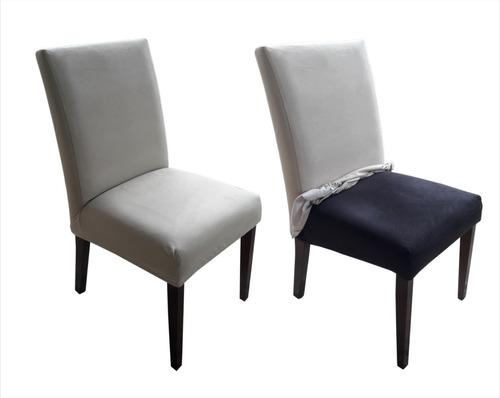 6 capa de cadeira sued, tecido impermeável e sobre medida