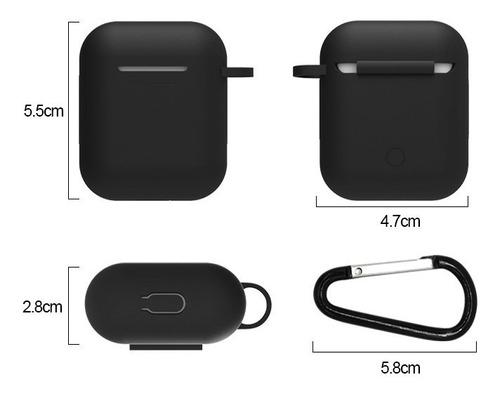 6 capas protetora 5 x 1 para estojo do fone de ouvido iphone
