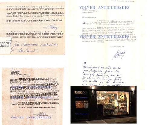 6 cartas algarbe secretario peron en madrid a bertolini