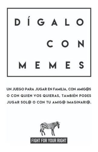 6 cartas salvajes + 6 digalo con memes mayor cartas fight