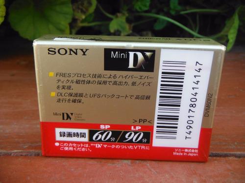6 cassette minidv de 60 minutos (varias marcas)