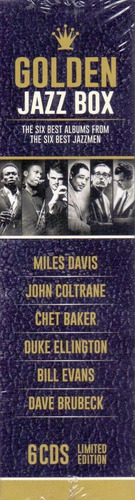 6 cd box golden - the six best albums from  six best jazzmen