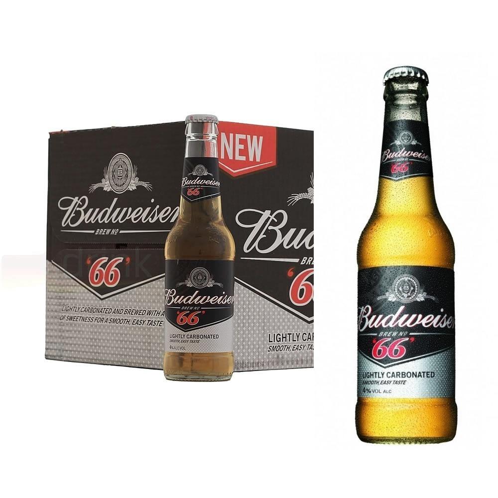 74fa4d29155fc 6 Cerveja Budweiser 66 Carbonatada Long Neck Low Carb - R  89