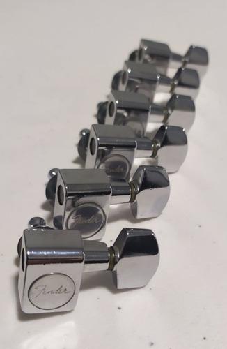 6 clavijas fender usa american standard para strat o tele