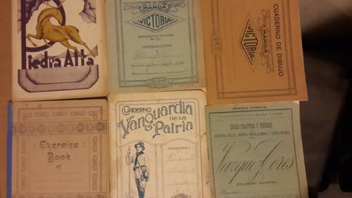 6 cuadernos antiguos fotos piedra alta y otros 008