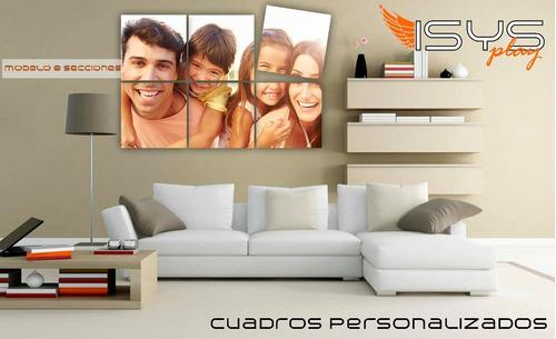 6 cuadros en oleo personalizados