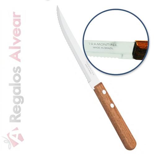 6 cuchillos y 6 tenedores tramontina cubiertos dynamic