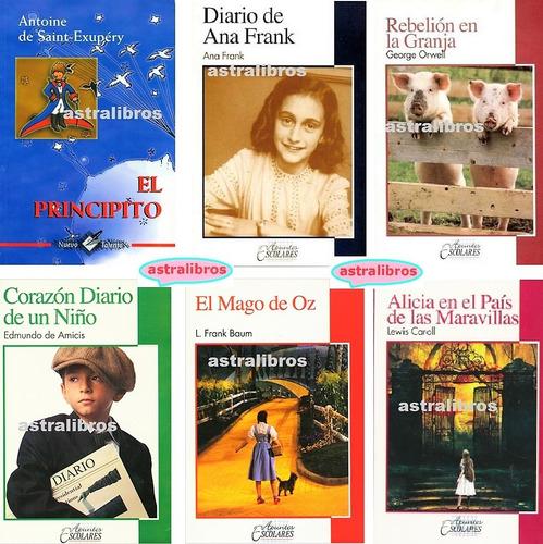 6 cuentos infantiles paquete principito mago oz alicia pais*