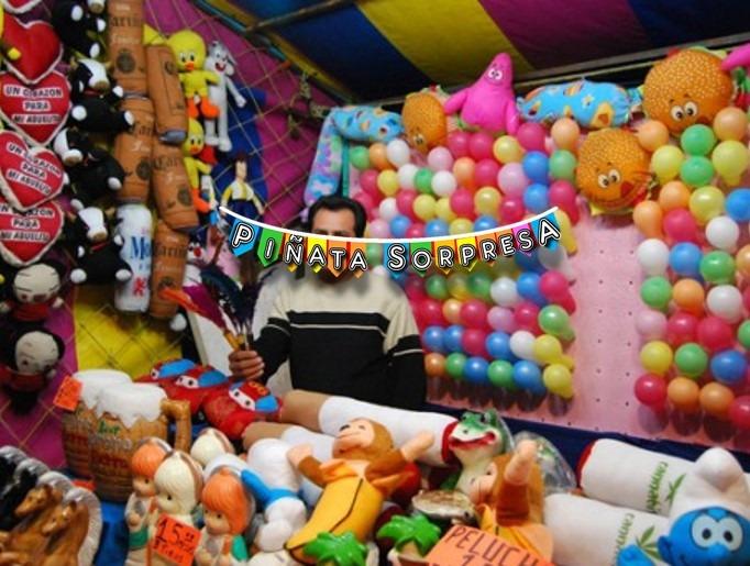 6 Dardo Globos Kermes Fiesta Feria Juego Cumpleanos Destreza