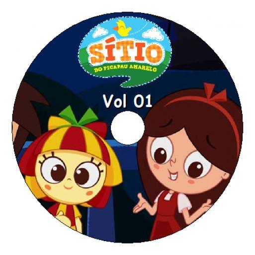 6 Dvds Desenho Sitio Picapau Amarelo Completo Frete Gratis R 52
