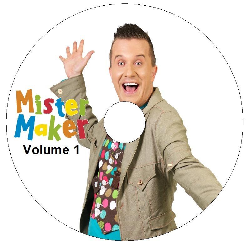 dvd mister maker dublado