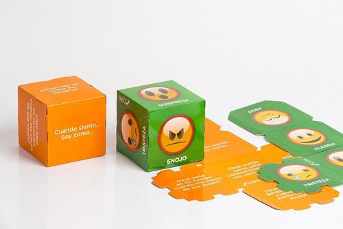 6 emociones al cubo