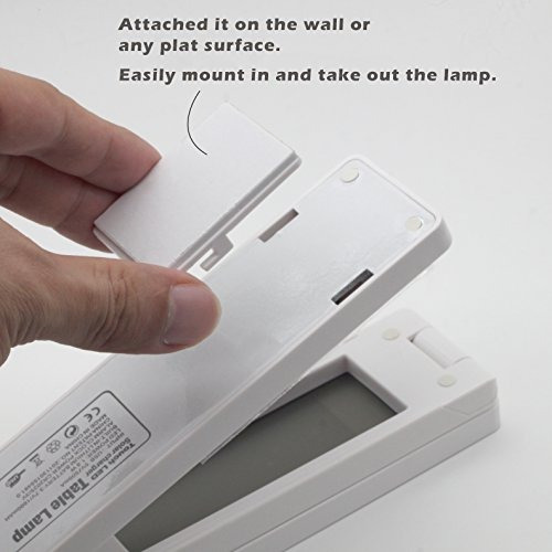 6 en 1 función plegable de carga solar lámpara de mesa (3100