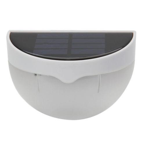 6 energía solar sensor de luz luz jardín valla lámpara de