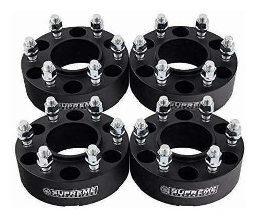 6 espaciadores céntricos supreme suspensions para ruedas, de