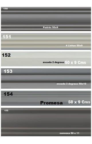6 formas de abs p/ cimento e gesso 3d + brinde e eva grátis!