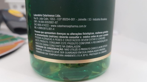 6 fr omega 3 catarinense biosupra1000mg 120 cps r$ 24,99 cd
