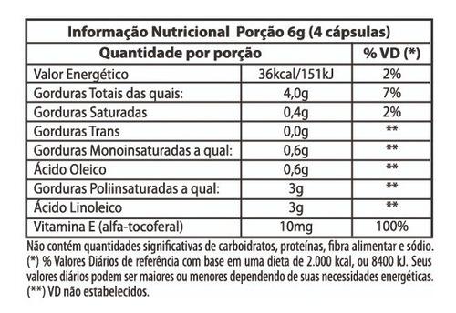 6 frasco de oleo de cartamo 120 capsulas de 1000mg