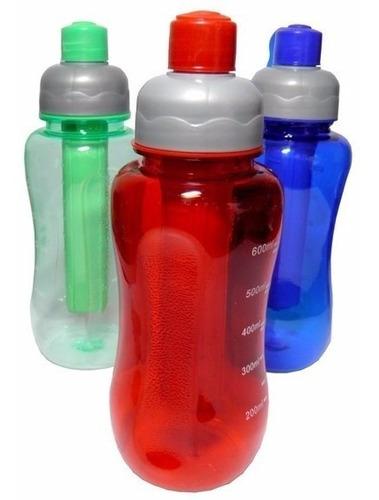 6 garrafas d´agua, squeeze, garrafa agua, garrafa térmica-1l