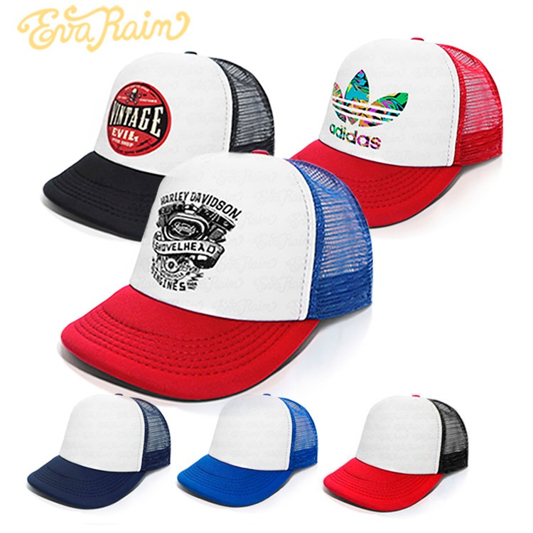 a22c36a357b8e 6 Gorras Trucker A Elección O Con Tu Logo Calidad Premium -   1.920 ...