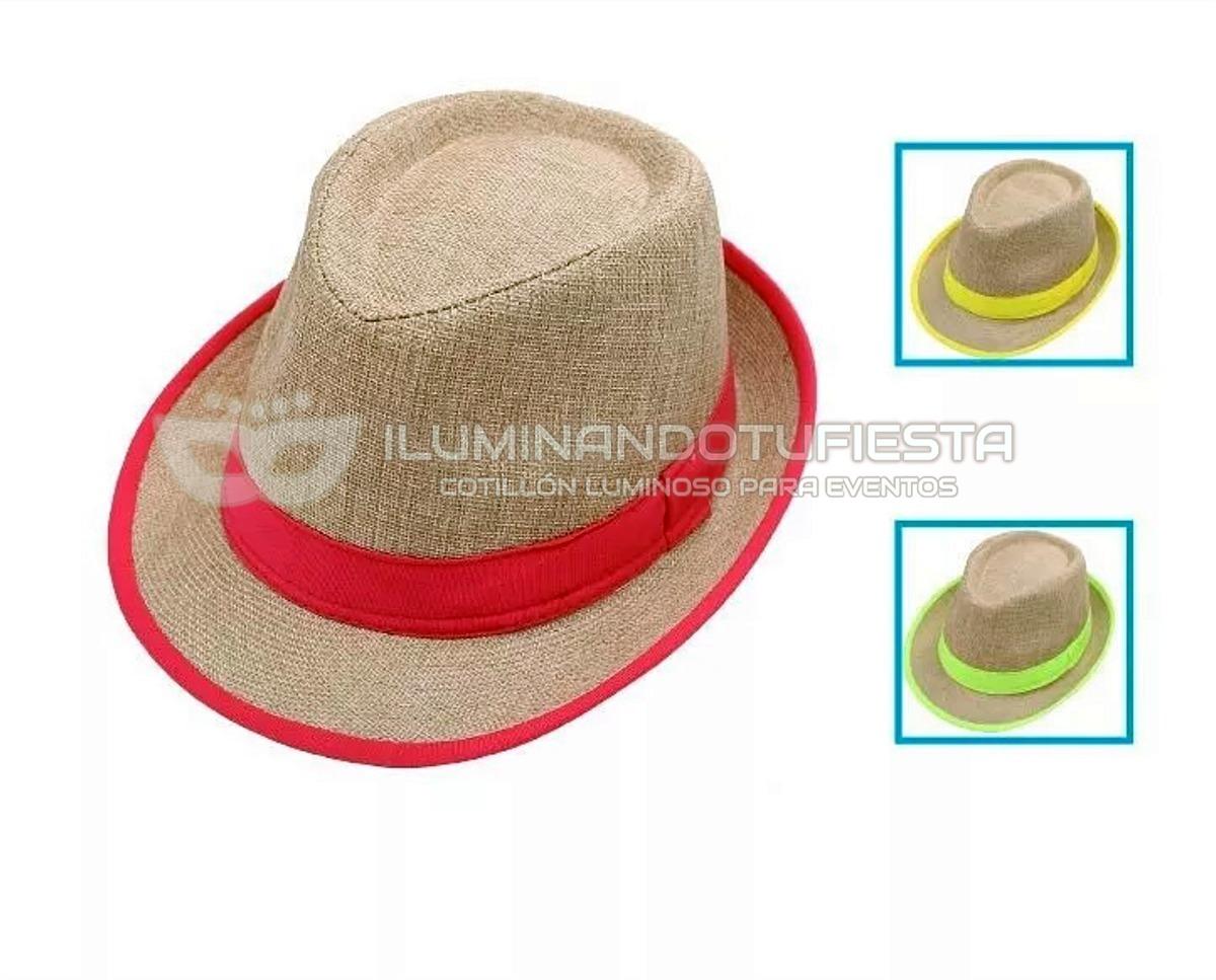 6 Gorros Funyi Con Cinta Flúo Cotillón Fiestas Cumpleaños -   828 ccc2d413d2e