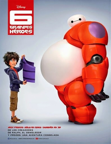 6 grandes héroes (big hero 6) (2014)