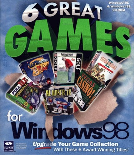 6 Grandes Juegos Para Windows 98 200 000 En Mercado Libre
