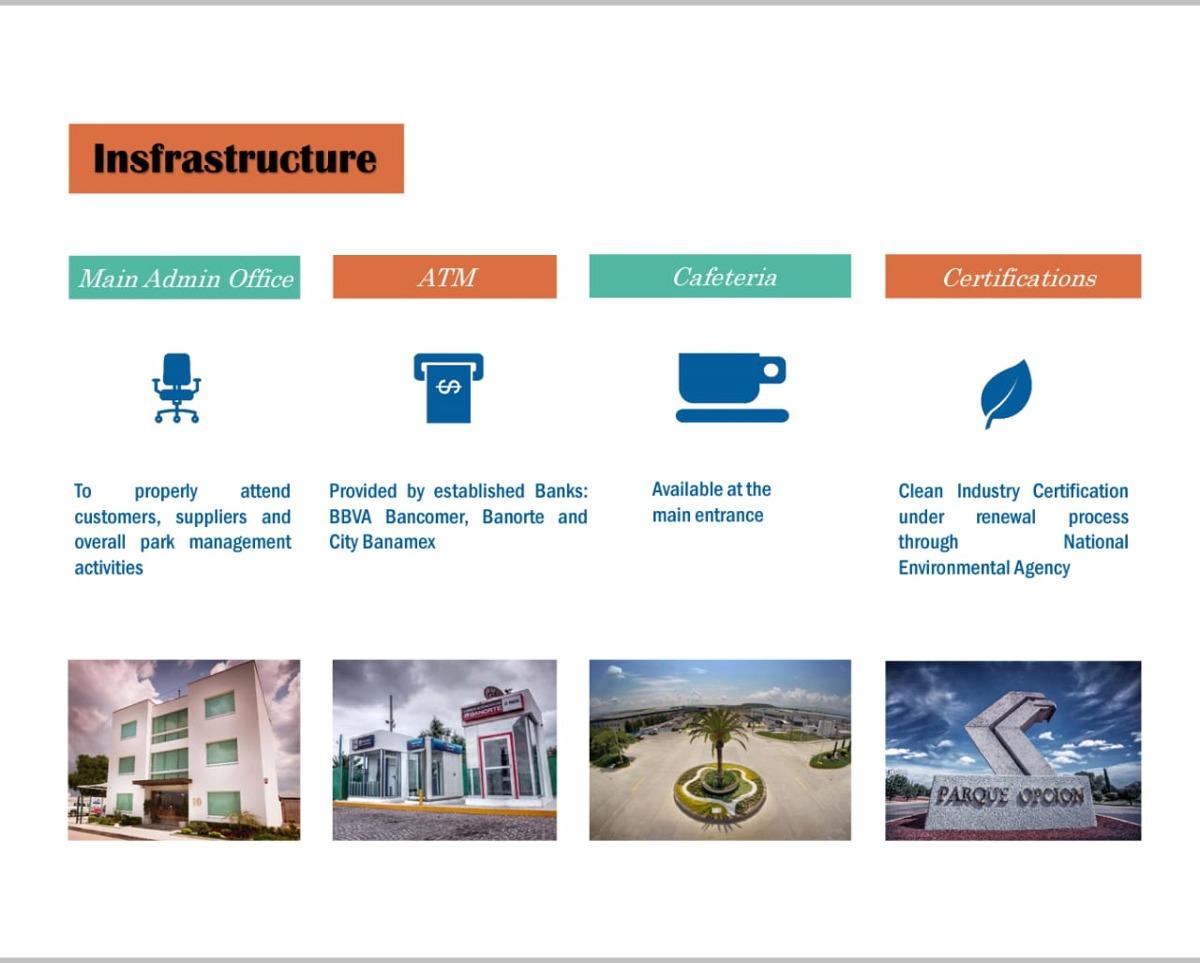 6 hectareas ,parque industrial opcion
