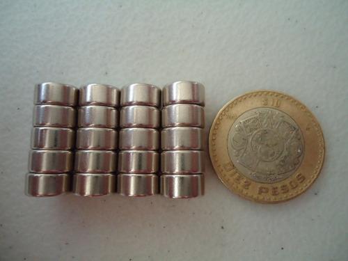 6 imanes de neodimio 10x5mm. potentes