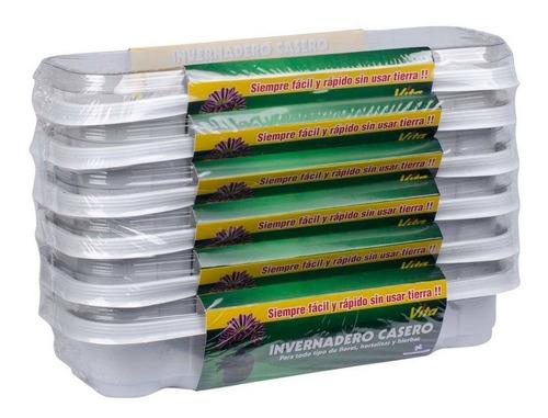 6 invernaderos caseros 12 peat pellets rancho los molinos