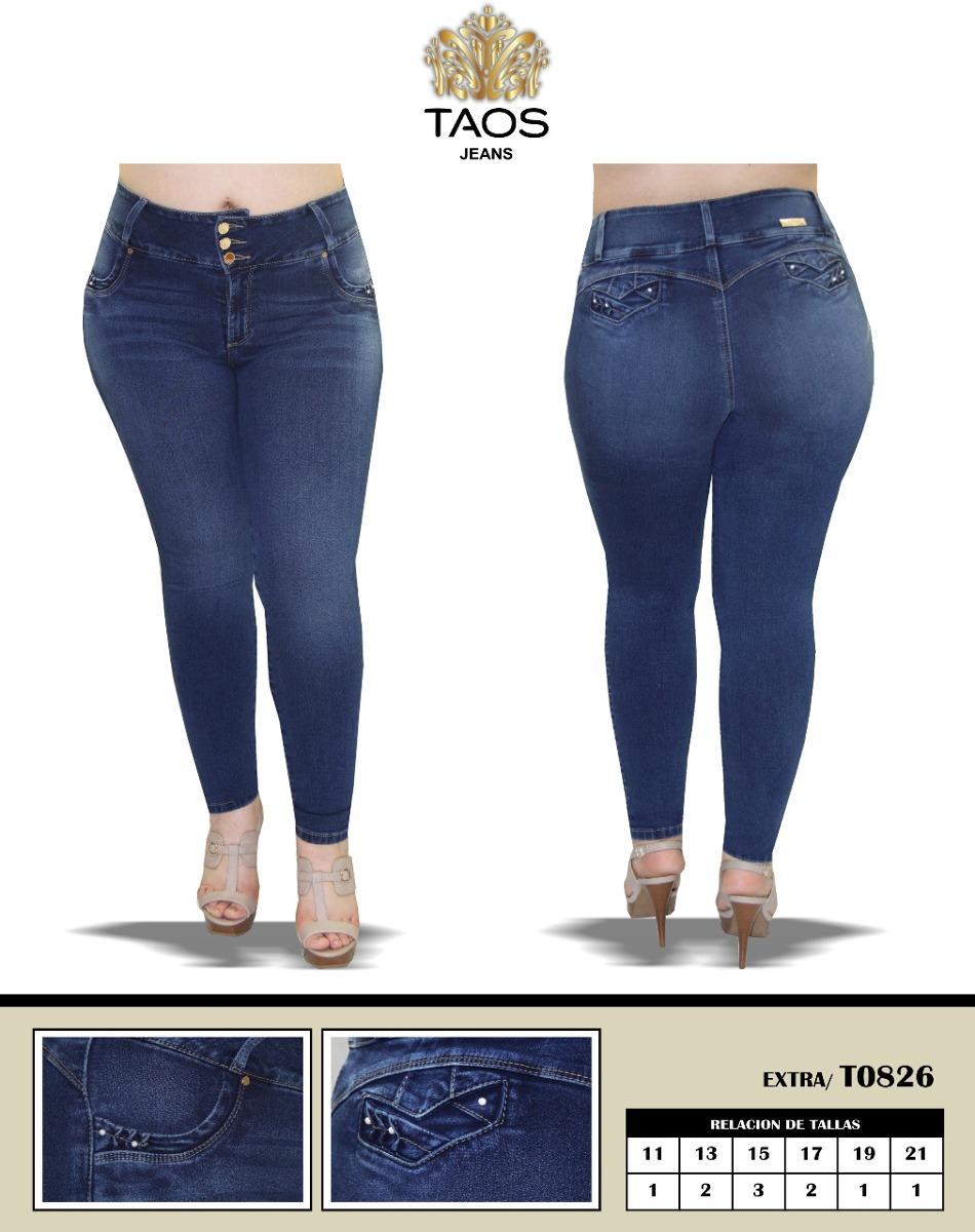 e9649c7717 6 jeans mujer pantalón colombiano push up tallas extra. Cargando zoom.