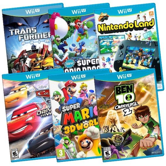 6 Juegos Completos De Wii U A Eleccion Con Envio Gratis 699 99