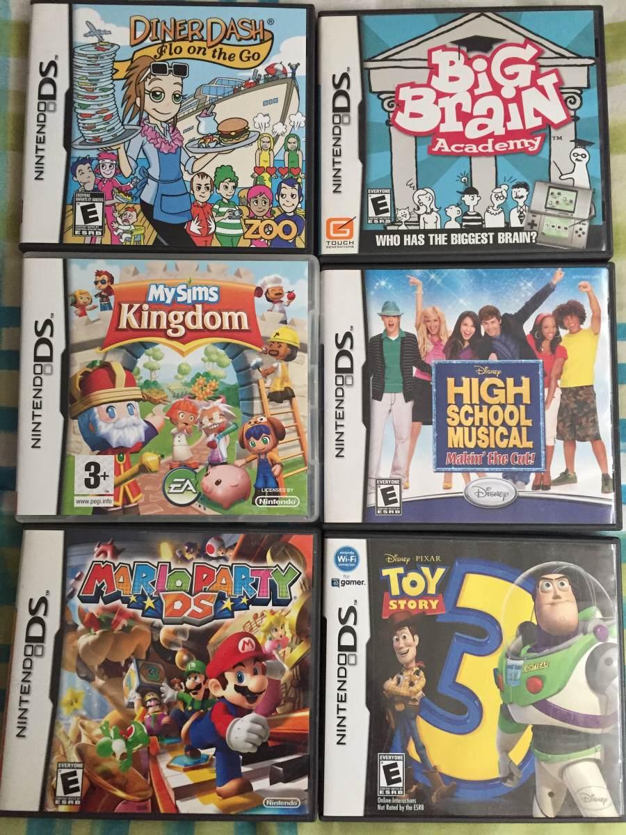 6 Juegos Nintendo Ds Originales 550 00 En Mercado Libre