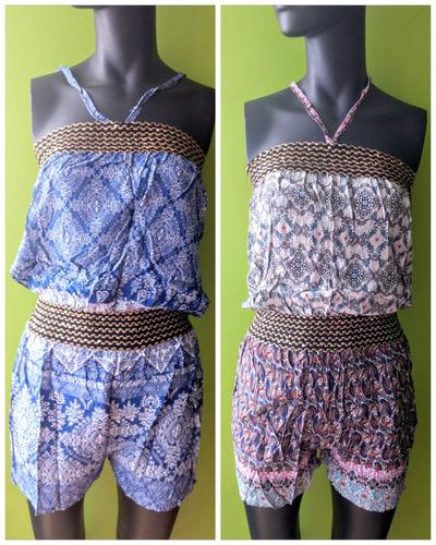 6 jumpsuits/palazzos de mujer a solo $110pza