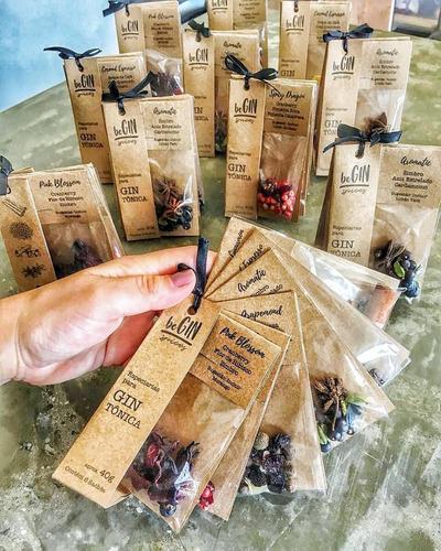 6 kits de especiarias para gin tônica (36 sachês)