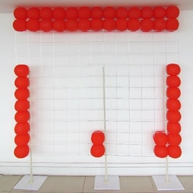 6 kits tela mágica pds painel balões, bexigas, bolas festas