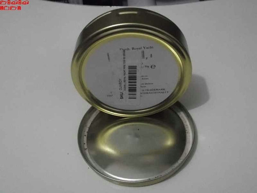 6 latas de coleção redonda adesivadas dun hill  nightcap