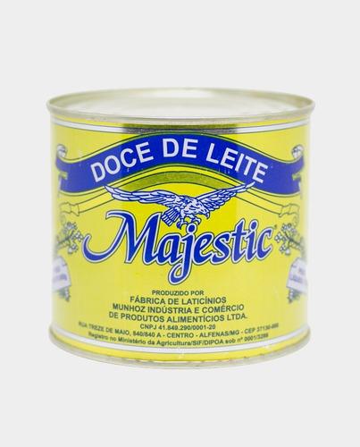 6 latas doce de leite majestic promoção o mais tradicional