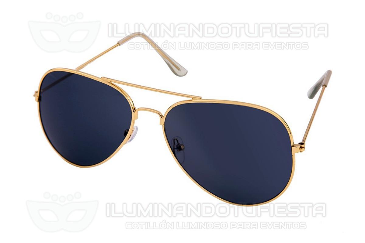 b2c411eb2c 6 Lentes Aviador Tipo Rayban Anteojos Vidrio Negro Gafas - $ 474,00 ...