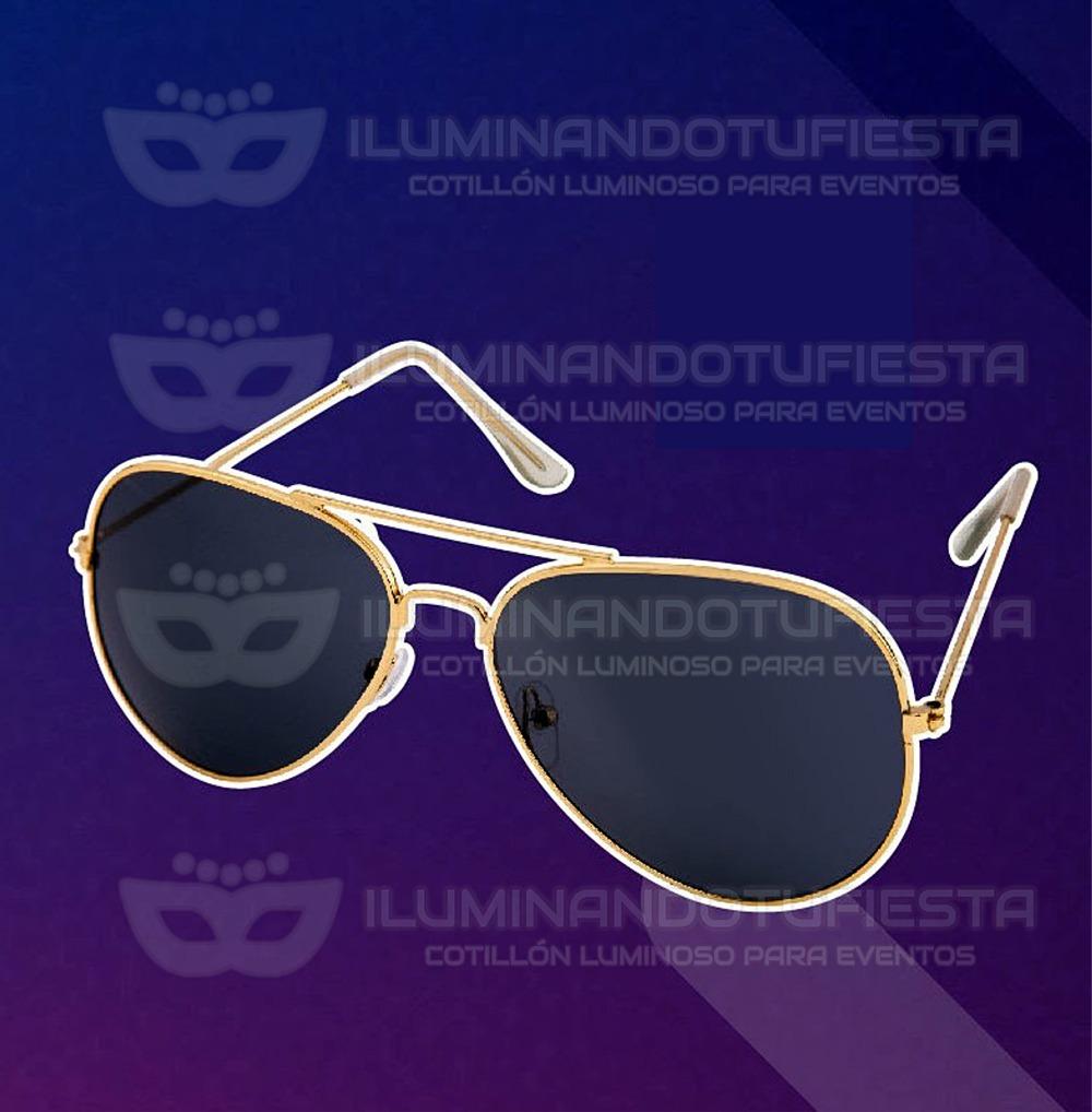 bd276f2092 6 Lentes Aviador Tipo Rayban Anteojos Vidrio Negro Gafas - $ 474,00 ...