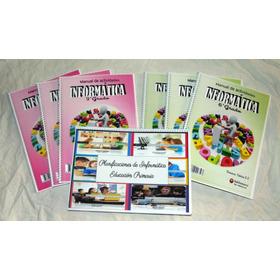 6 Libros De Informática+planificaciones Envio Gratis