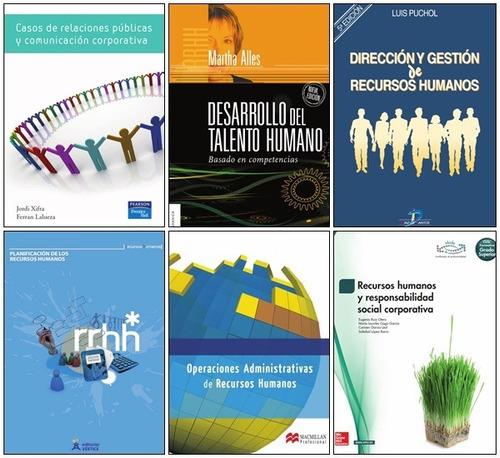 6 libros de rrhh y relaciones públicas dubrin,slocum (pdf)
