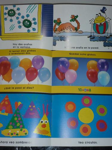 6 libros infantiles. lectura inicial x áreas de conocimiento