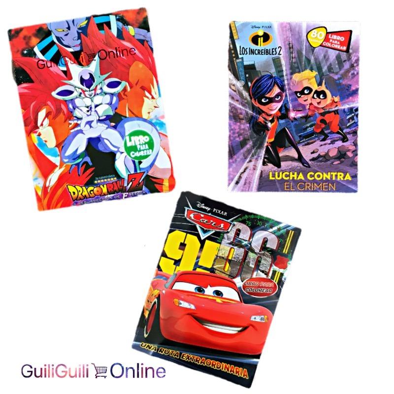 6 Libros Para Colorear Disney Niños 80 Paginas Por Libro - $ 109.00 ...
