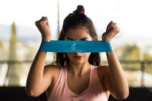 6 ligas bandas de resistencia ejercicio yoga fit crossfit