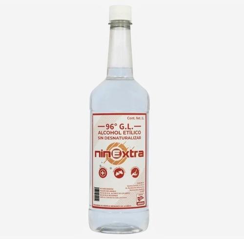 6 litros alcohol etílico puro 96° sin desnaturalizar 100%