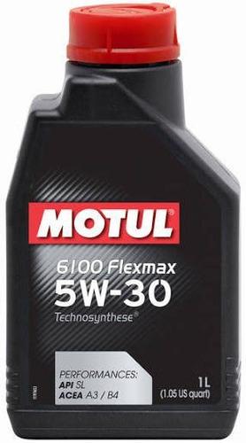 6 litros motul 6100 flexmax 5w30(fiat,civic,i30,toyota,city)