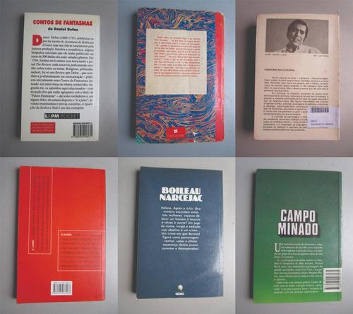 6 livros - literatura estrangeira - vários autores - lote 11